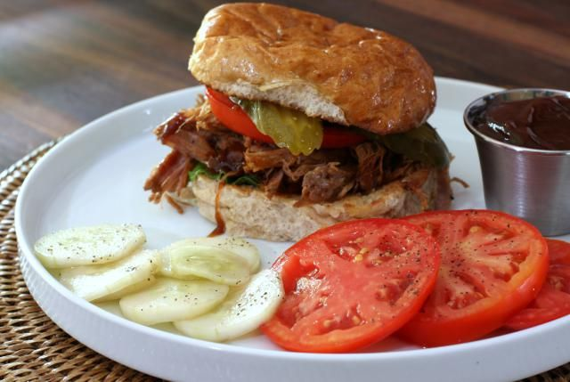 Easy Slow Cooker Barbecue Pork