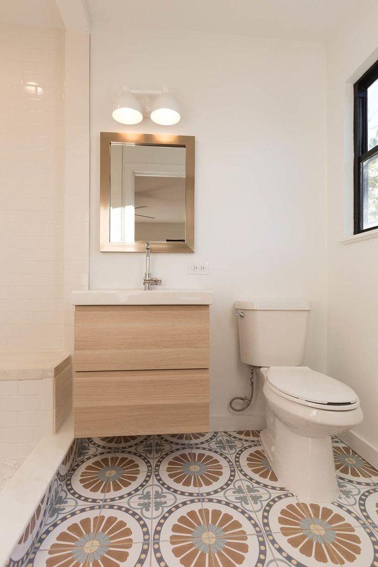 Best 25 midcentury tile ideas on pinterest corner bath for Modern ranch bathroom