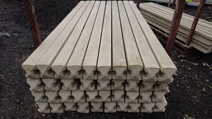 Concrete Fence Post 8FT £8- 7Ft £7- 6Ft £6 01226 245612 steel Reinforced  #Unbranded