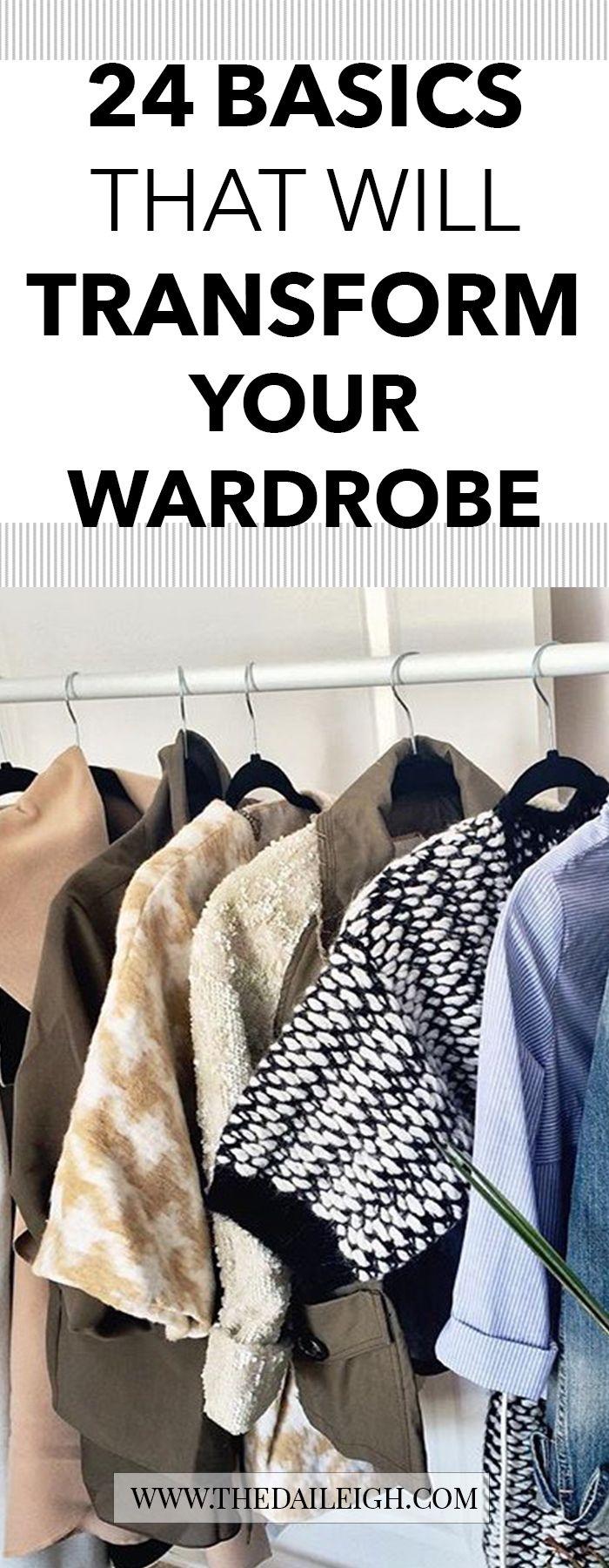 Wardrobe Basics For Women | Wardrobe Basics | How To Dress | How To Be More Stylish | Transform Wardrobe