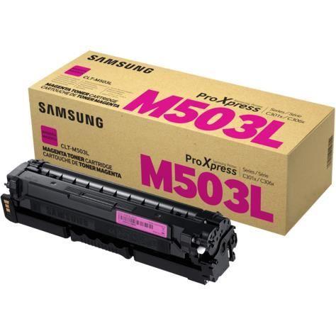 Cartouche de toner magenta haut rendement Samsung CLT-M503L (SU281A) pour SL-C3010ND | C3060FR