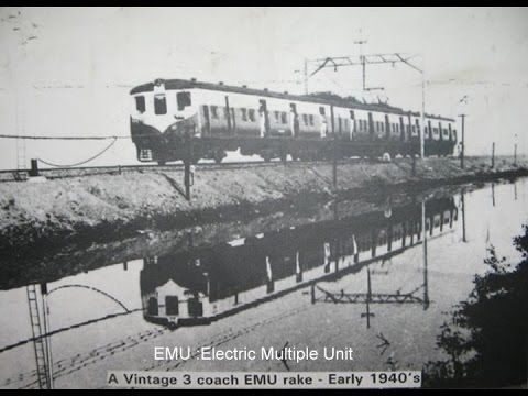 Mumbai Suburban Railways (local trains) Historical pictures