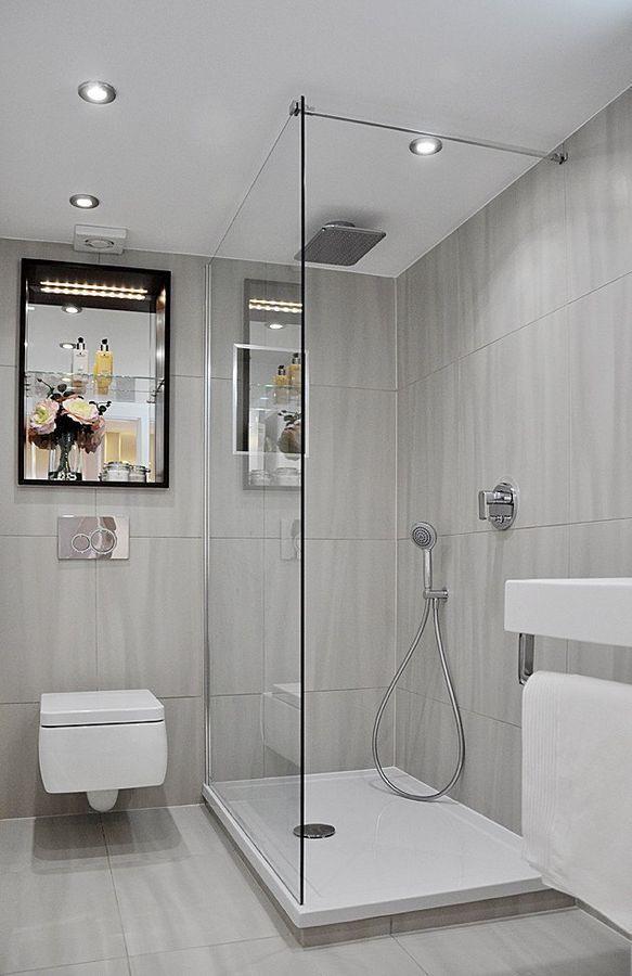 Ba os peque os modernos 2018 80 fotos e ideas de for Banos modernos para apartamentos