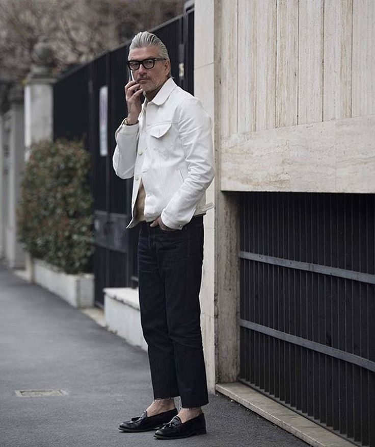 Silver fox steez: Just because you're older now, doesn't mean you have to lose your sense of style //