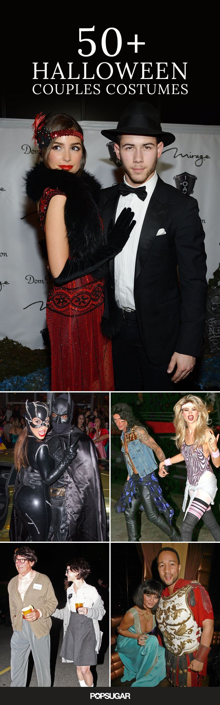 There have been a lot of impressive #Halloween #costumes over the years, but only a handful of celebrity couples make it out in coordinated looks. Get inspiration and ideas with a look back at some of the best celebrity couples costumes!