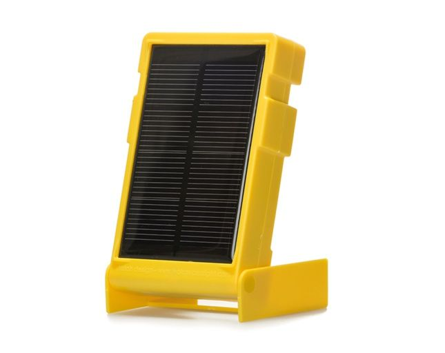 WakaWaka Solar Light is a compact, solar powered flashlight that can provide 80 hours of light after one day out in the sun.
