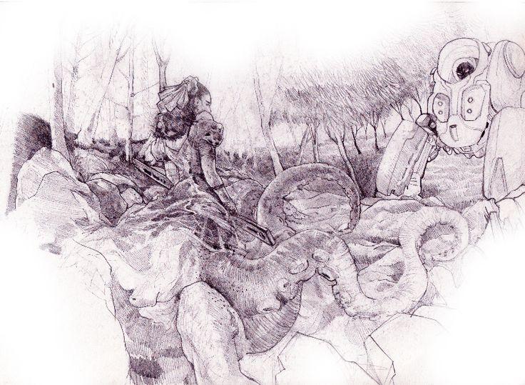 Octopus widow - artwerk by jun1art