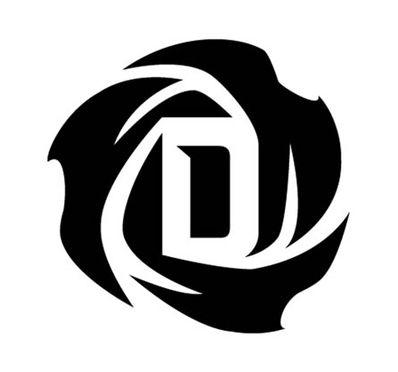 Derrick Rose logo (basket)