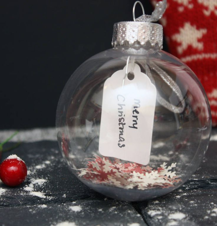 personalised tag christmas bauble by glb graphics | notonthehighstreet.com