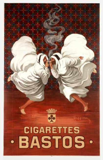 Stunning Foreign Cigarette Ad Posters--the only tobacco I would want in the house would be on a poster!
