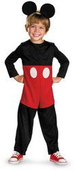 Mickey Mouse Toddler 3-4T Dress Up Costume - Mickey Mouse - Zimbio