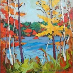 Galerie Gordon Harrison Gallery à Ottawa- Toile de Gordon Harrison