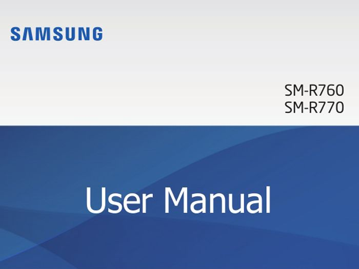 The User Manual for the Samsung S3, SM-R760 / SM-R770 is now available online in English, Dutch, French, and German. Learn all the tips and Howto.