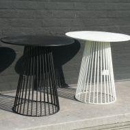 Antonino Sciortino round metal bistro table