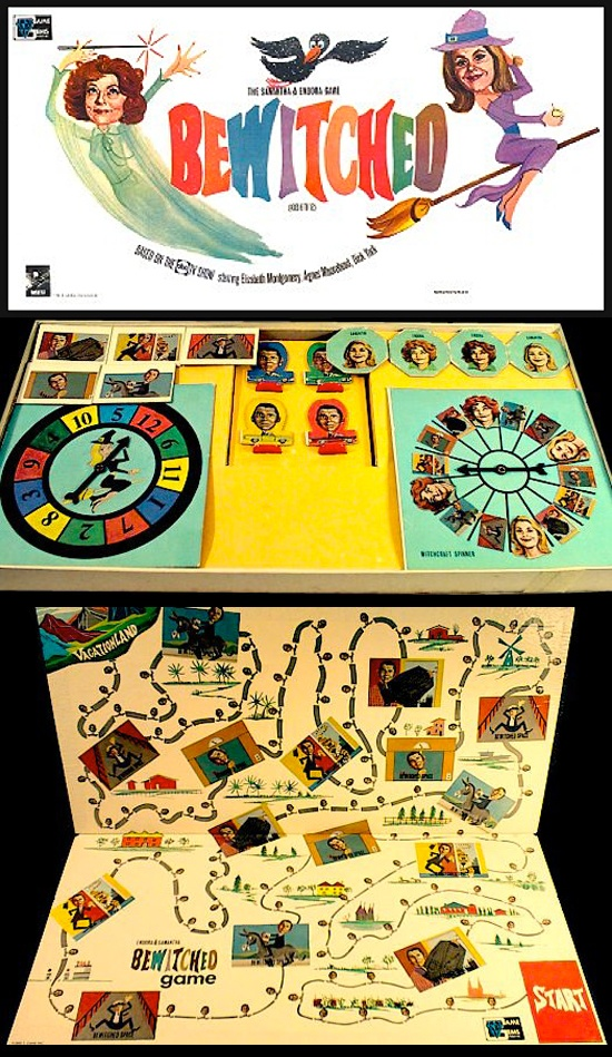 1965 Bewitched Board Game, aka why I wish I born in the sixties