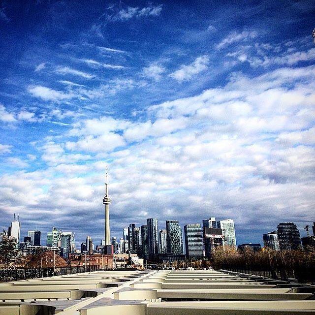 Can you believe this sunshine? No complaints here in #Toronto. #SeeTorontoNow Photo: @yashyanthi