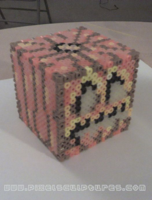 3D Minecraft Jack o' Lantern by PixelSculptures.deviantart.com on @DeviantArt