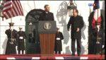 Hollande accueilli en grande pompe à la Maison Blanche - Le journal de 20h - Replay