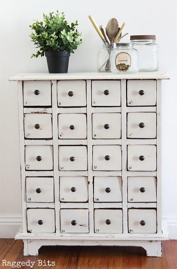 How To Paint A Farmhouse Card Catalog Card Catalog Cabinet Room Diy Craft Room