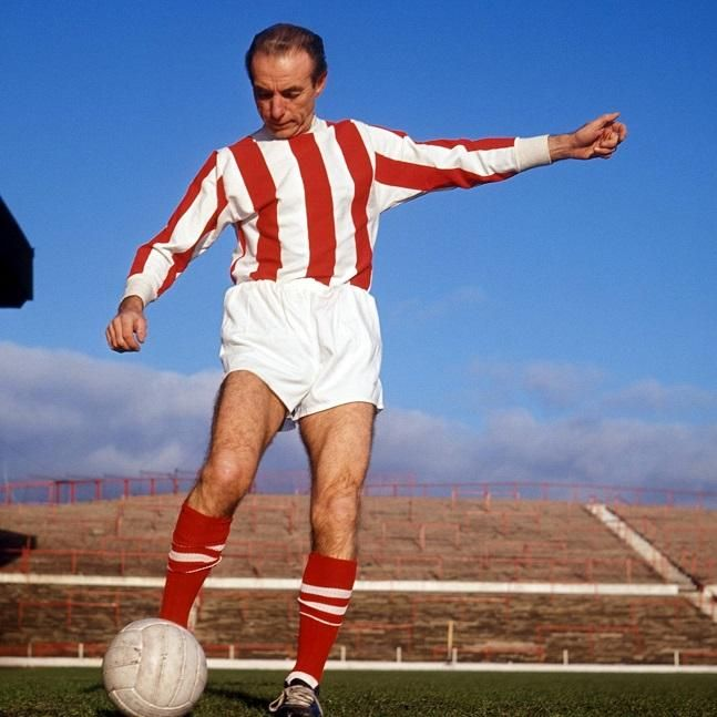 Sir Stanley Matthews - Stoke City (1964) Imago Photo