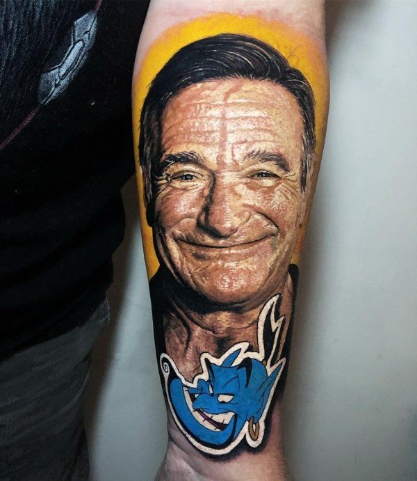 26 Hyper Realistic Tattoos Best Portrait Tattoo Artist Portrait Tattoo Robin Williams