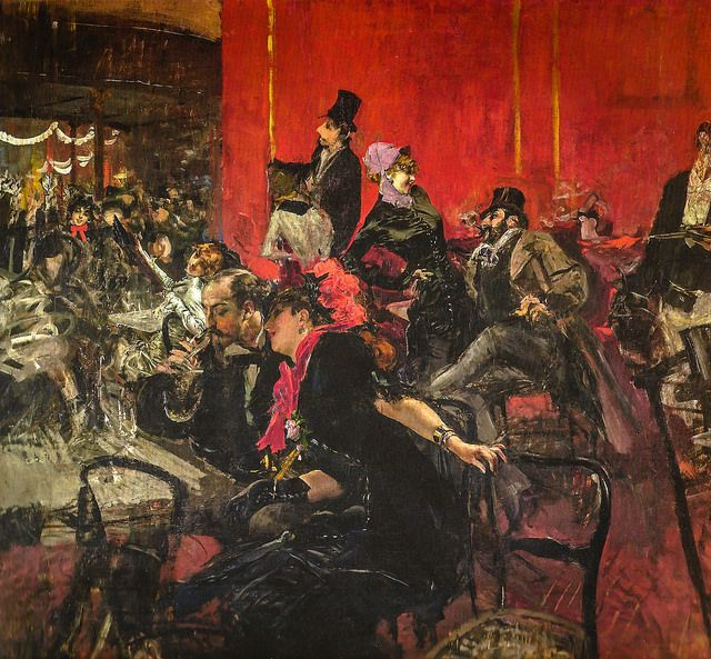 Giovanni Boldini - Celebration at the Moulin Rouge, 1889 at Musée d'Orsay Paris France