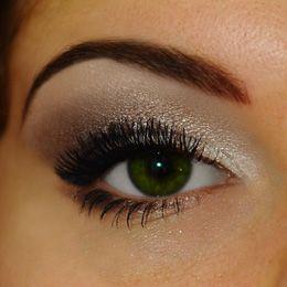 Maquillage oeil petit, paupière fixe tombante, étape 7 sourcils