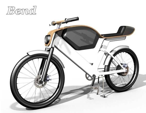 Bend: Electric Moped by Erik Askin