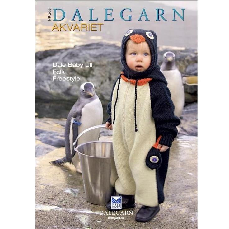 209 Akvariet fra Dale Garn | Strikkeopskrifter med akvariemotiver fra Dale Garn