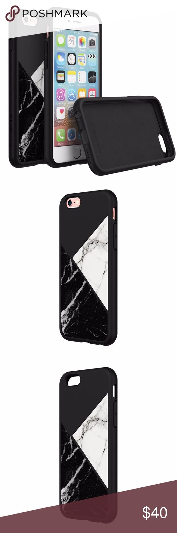 SolidSuit Marble Finish iPhone 6/6s Case SolidSuit Marble blends high quality materials to create the first premium phone case with marble finish and advanced drop protection. The beauty of marble tile without the disadvantage of adding weight. This ultra slim case has combined impact protection of 11 feet with minimalistic look. Rhinoshield Accessories Phone Cases
