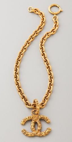 Vintage Chanel Byzantine Necklace