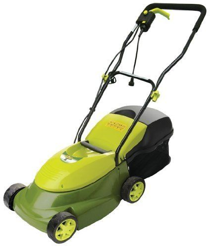 Prime Members:Sun Joe Mower MJ401E 14-Inch 12 Amp Electric Lawn Mower With Grass Bag $79  Free Shipping