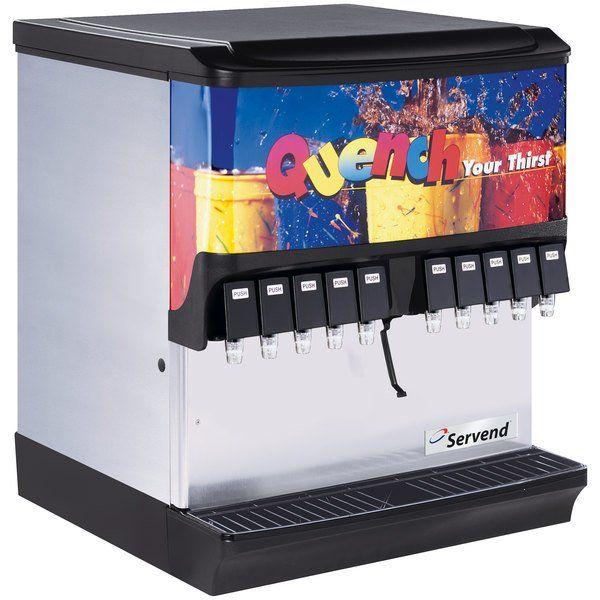 Servend 2705006 Sv 200 10 Valve Push Button Countertop Ice