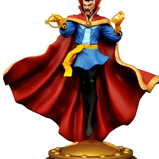 It s another big month for Diamond Select Toys, with new items in the July Previews catalog. Marvel Gallery Doctor Strange Comic PVC Figure A Diamond Select Toys release! by the vishanti! the Marvel universe sorcerer supreme, Doctor strange, is now the latest in DST s new line of 9-inch-scale gallery. #hero #comics #DCComics #DC #Marvel #figurines #Collectibles #gifts #collect