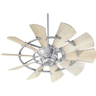 """Shop for Windmill 44"""" Transitional Ceiling Fan.. Get free shipping at Overstock.com - Your Online Home Decor Outlet Store! Get 5% in rewards with Club O! - 26245215"""