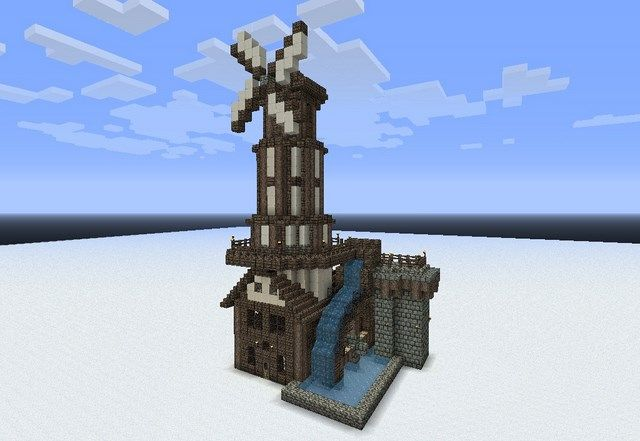 Compil' de ... #1 : Moulins - Minecraft