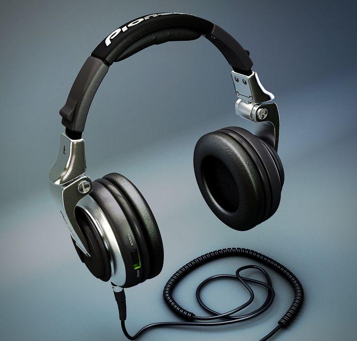 Pioneer HDJ-2000 DJ Headphones by ~TonyHarris