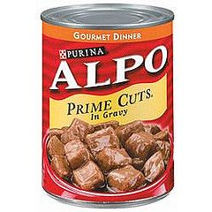 ONLY Mighty Dog pouch products and specific date codes of ALPO Prime Cuts canned dog food are being recalled.