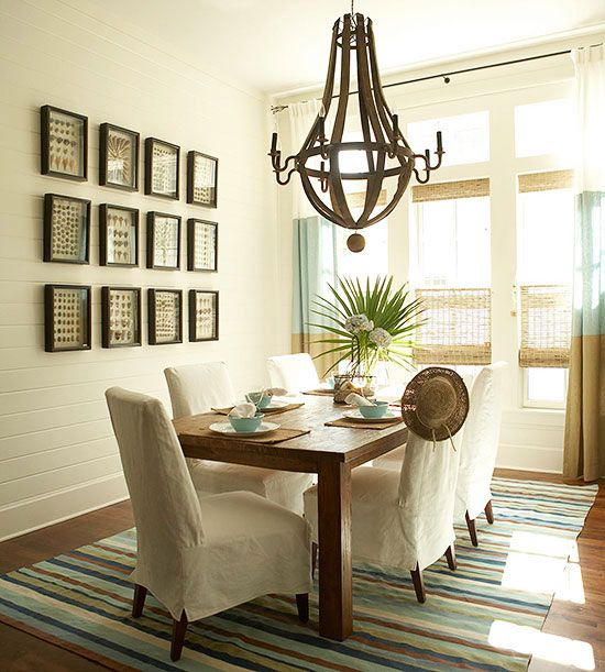 Casual Dining Room Decor Ideas: Decorating Ideas For Calming Rooms