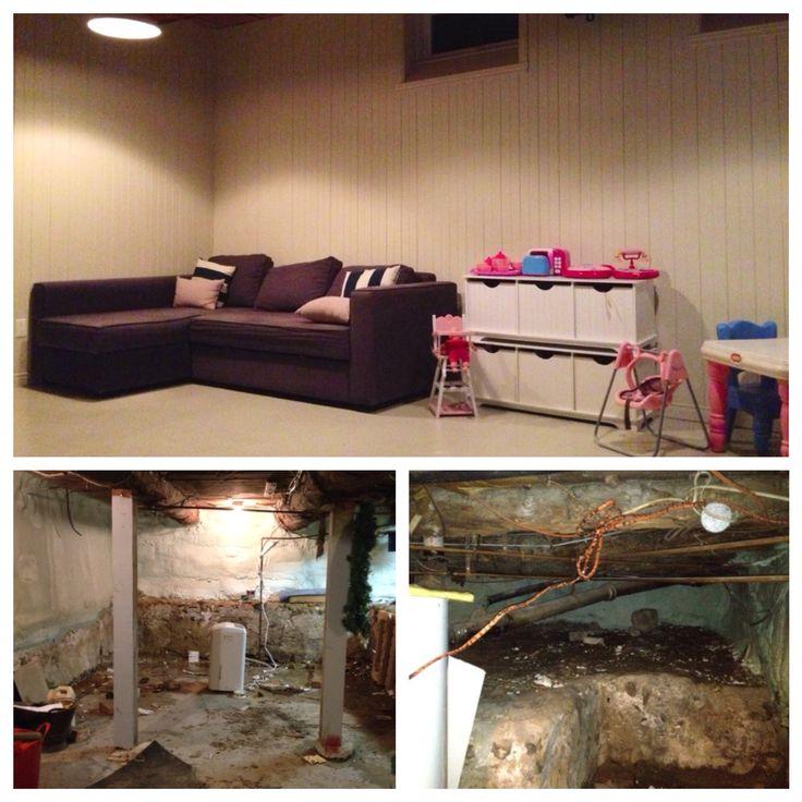 Creusage et aménagement sous-sol