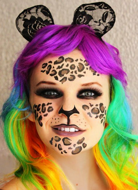 17 best images about leopard print tattoo idea on for Halloween temporary tattoos