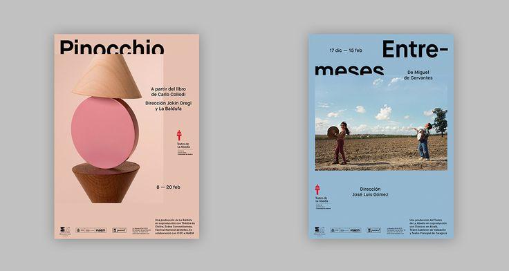Teatro de La Abadía –Posters 2014-1015 on Behance