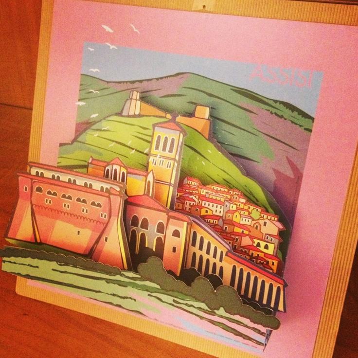 Progetto grafico in 3D  della Basilica di S.Francesco e della Porziuncola in Assisi  Created by: Marini Eraldo