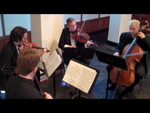 String Quartet Austin La Rejouissance from The Fireworks Music arr. for String Quartet - YouTube
