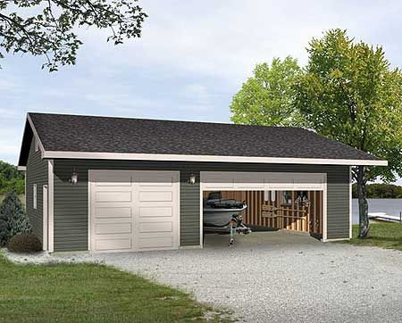 Plan 22098sl Versatile Garage Plan Garage Plans