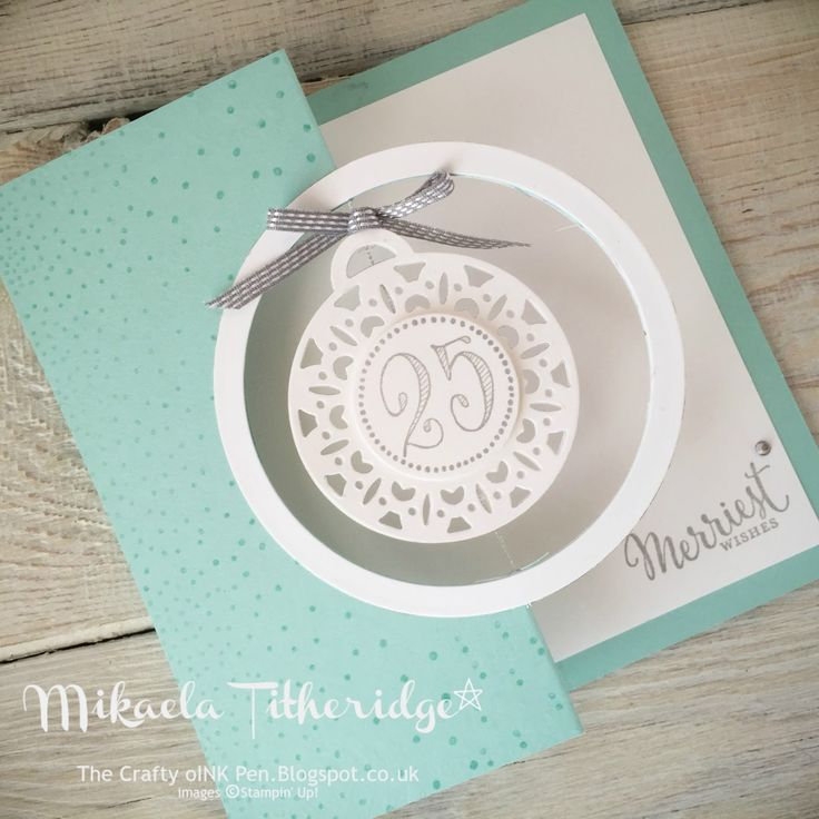 Mikaela Titheridge, The Crafty oINK Pen, UK. Creation Station Blog Hop, Merriest Wishes www.thecraftyoinkpen.stampinup.net