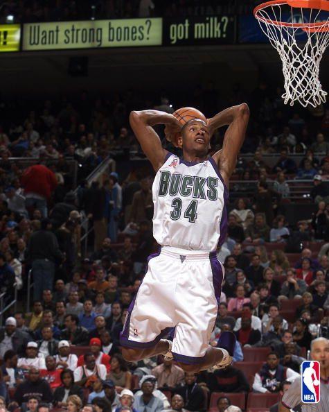 Ray Allen dunk