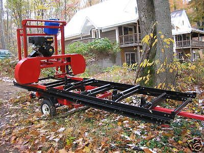 """Sawmill Portable Bandsaw mill KIT 36"""" X 16'  $1,295.00 photo of kit included   Business & Industrial, Agriculture & Forestry, Forestry Equipment & Supplies   eBay!"""