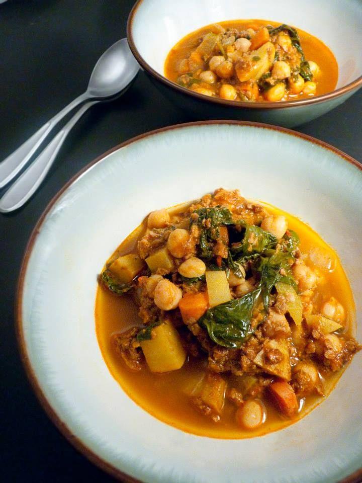 21 best vegan spanish recipes images on pinterest vegetarian chickpea soup with chorizo vegan spanish recipe http forumfinder Images
