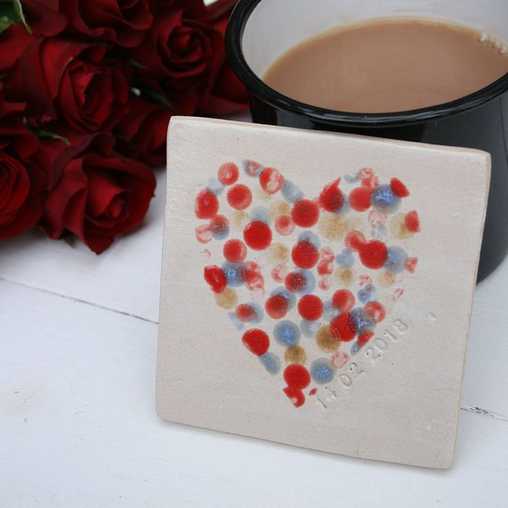 Are you interested in our valentines ceramic heart coaster? With our red ceramic love heart you need look no further.